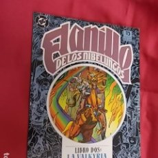 Cómics: EL ANILLO DE LOS NIBELUNGOS. LIBRO DOS. LA VALKYRIA. EDICIONES ZINCO. Lote 120974463