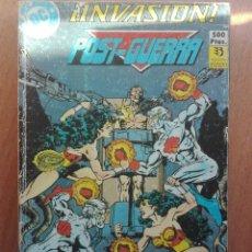 Cómics: RETAPADO ZINCO INVASIÓN.DEL 5 AL 8. 1989 DC COMICS. Lote 120990207