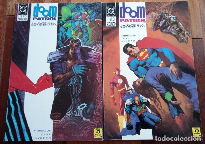 DOOM PATROL LA PATRULLA CONDENADA GRANT MORRISON (Tebeos y Comics - Zinco - Patrulla Condenada)