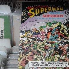 Cómics: SUPERMAN PRESENTA A SUPERBOY. ÁLBUM Nº 5. BRUGUERA . Lote 121220551