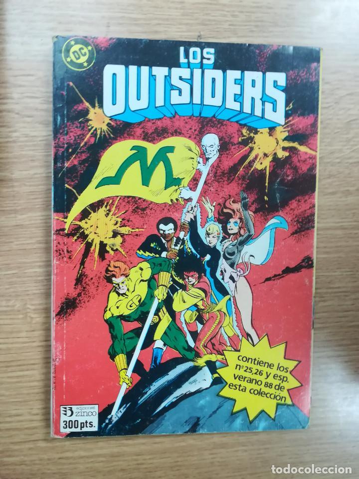 OUTSIDERS RETAPADO #6 (NUMEROS 25, 26 Y ESPECIAL VERANO 1988) (Tebeos y Comics - Zinco - Retapados)