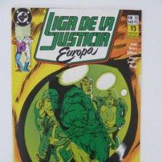 Cómics: LIGA DE LA JUSTICIA EUROPA. Nº 13. Lote 121238375