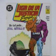 Cómics: LIGA DE LA JUSTICIA EUROPA. Nº 12. Lote 121238491