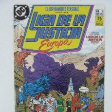 Cómics: LIGA DE LA JUSTICIA EUROPA. Nº 8. Lote 121238855