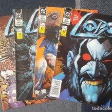 Cómics: LOBO #1-4 (1991) -COMPLETA-. Lote 121255027