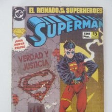 Cómics: SUPERMAN. EL REINADO DE LOS SUPERHEROES. Nº 1 AL 4. Lote 121278091