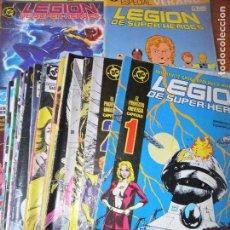 Cómics: LEGION DE SUPER- HEROES DEL Nº 1 AL 29 - COLECCION + 2 ESPECIALES SUPERHEROES- ZINCO -. Lote 121353127