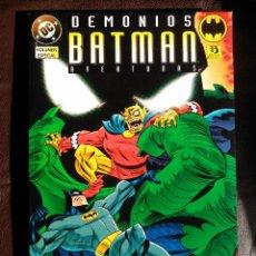 Cómics: BATMAN AVENTURAS. DEMONIOS. EDICIONES ZINCO. Lote 121438255