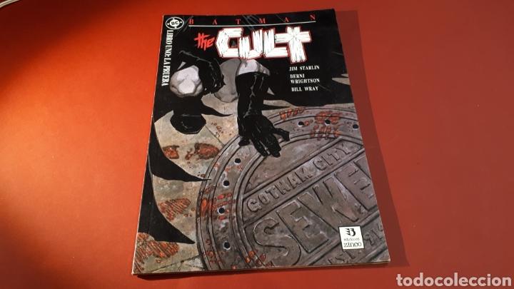 BATMAN THE CULT 1 MUY BUEN ESTADO DC ZINCO PRESTIGIO (Tebeos y Comics - Zinco - Batman)