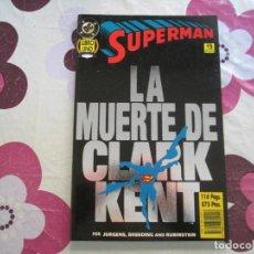 Cómics: LA MUERTE DE CLARK KENT LIBRO 1. Lote 121506263