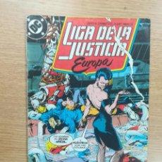Cómics: LIGA DE LA JUSTICIA EUROPA #4. Lote 121549707