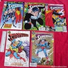 Cómics: LOTE DE COMICS SUPERMAN .DC .ED.ZINCO.VARIOS NUMEROS.EN IMAGEN ,MAS FOTOS.. Lote 121550627