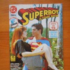 Cómics: SUPERBOY EL COMIC BOOK Nº 1 - DC - ZINCO (J). Lote 121745639