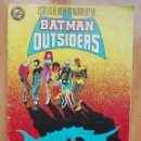 Cómics: BATMAN Y LOS OUTSIDERS 24.ÚLTIMO NUMERO.. Lote 122175723