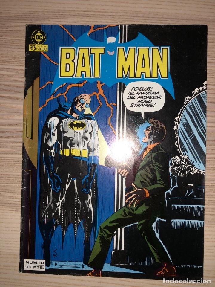 BATMAN N°10. DC/ZINCO (Tebeos y Comics - Zinco - Batman)