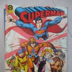 Cómics: TOMO SUPERMAN CINCO EJEMPLARES DEL11 AL 15 EDICIONES ZINCO. Lote 123360771