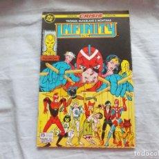 Comics: CLASICOS ZINCO. INFINITY INC. Nº 14. CRISIS ESPECIAL. Lote 123520339
