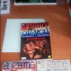Cómics: SANDMAN A GAME OF YOU COMPLETA EDICIONES ZINCO. Lote 123546071