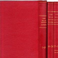 Cómics: LIGA DE LA JUSTICIA EUROPA COLECCIÓN COMPLETA 36 Nº'S Y 1 ESPECIAL ENCUADERNADOS. ZINCO, 1989. Lote 123848175