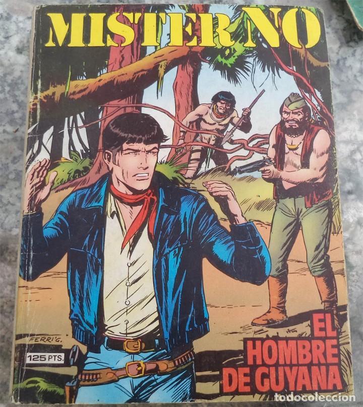 MISTER NO N.º 6 EL HOMBRE DE GUYANA ED. ZINCO 1982 (Tebeos y Comics - Zinco - Prestiges y Tomos)