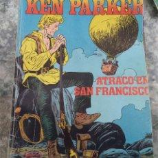 Cómics: KEN PARKER N.º 8 ATRACO EN SAN FRANCISCO ED. ZINCO 1983. Lote 123873971