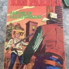 Cómics: KEN PARKER N.º 6 SANGRE EN LAS ESTRELLAS ED. ZINCO 1982. Lote 123874603