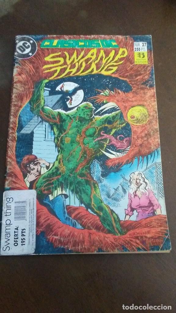 CLASICOS DC Nº27 - SWAMP THING (Tebeos y Comics - Zinco - Cosa del Pantano)