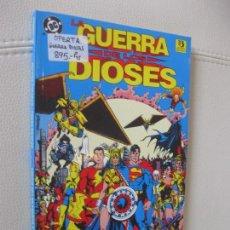 Cómics: ZINCO - LA GUERRA DE LOS DIOSES - SUPERMAN, WONDER WOMAN, FLASH, BATMAN. Lote 124187779