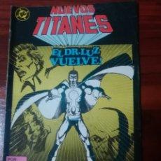 Cómics: NUEVOS TITANES - 40 - VOLUMEN 1 - VOL 1 - DC COMICS - EDICIONES ZINCO - WOLFMAN. Lote 57830344