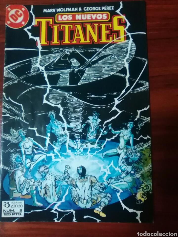 LOS NUEVOS TITANES - 2 - VOLUMEN 2 - SERIE REGULAR - DC COMICS - EDICIONES ZINCO (Tebeos y Comics - Zinco - Nuevos Titanes)