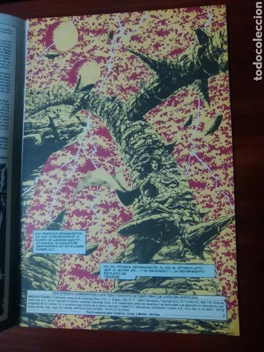Cómics: LOS NUEVOS TITANES - 2 - VOLUMEN 2 - SERIE REGULAR - DC COMICS - EDICIONES ZINCO - Foto 2 - 58021099