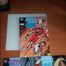 Cómics: ANIMAL MAN CARNE Y SANGRE 3 TOMOS VERTIGO DC COMICS. Lote 124234843