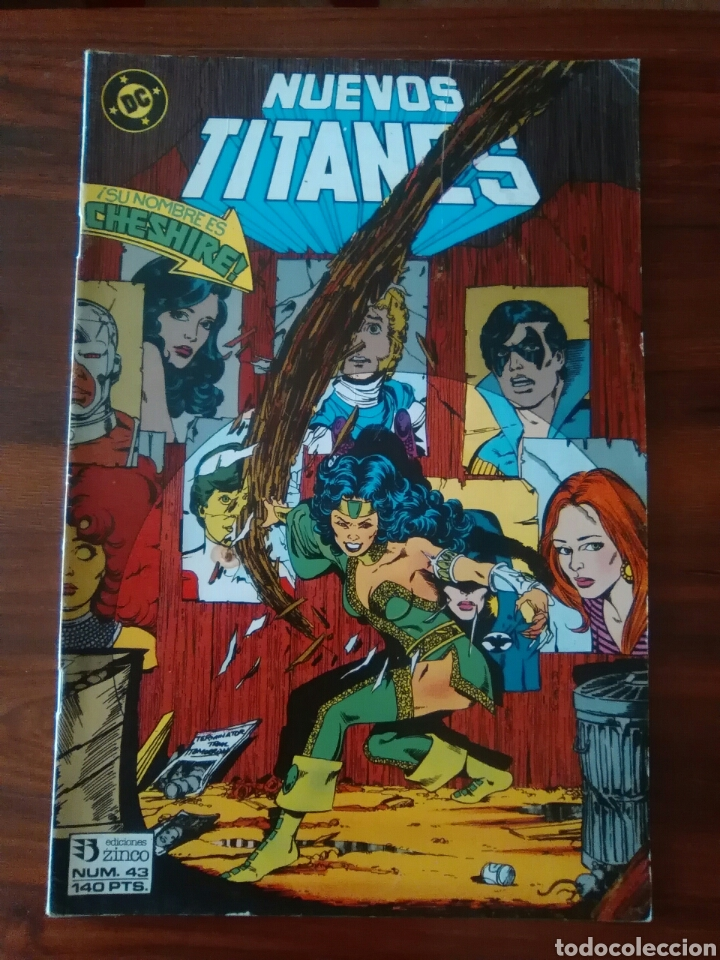 NUEVOS TITANES - VOLUMEN 1 - VOL 1 - NÚMERO 43 - DC COMICS - ZINCO (Tebeos y Comics - Zinco - Nuevos Titanes)