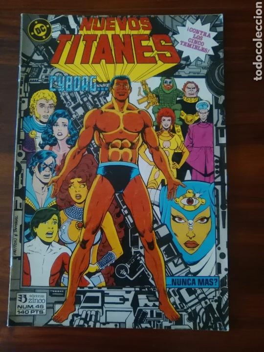 NUEVOS TITANES - VOLUMEN 1 - VOL 1 - NÚMERO 46 - DC COMICS - ZINCO (Tebeos y Comics - Zinco - Nuevos Titanes)