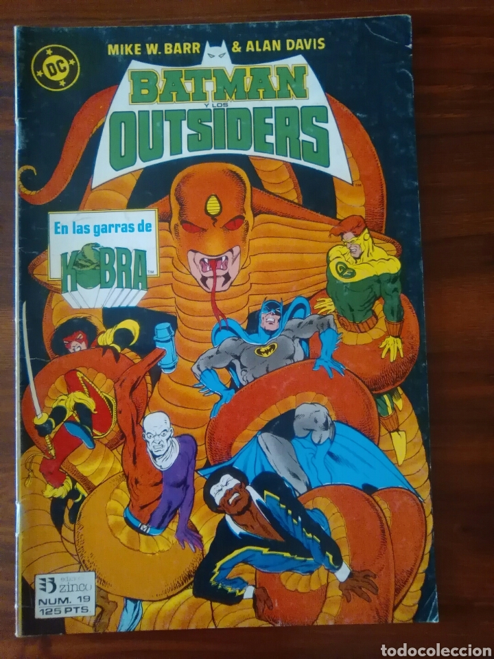 BATMAN Y LOS OUTSIDERS - NÚMERO 19 - VOLUMEN 1 - VOL 1 - DC COMICS - ZINCO (Tebeos y Comics - Zinco - Outsider)