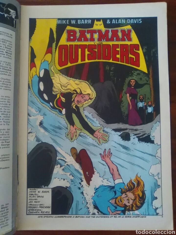 Cómics: BATMAN Y LOS OUTSIDERS - NÚMERO 19 - VOLUMEN 1 - VOL 1 - DC COMICS - ZINCO - Foto 2 - 68036409