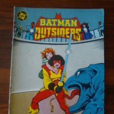 Cómics: BATMAN Y LOS OUTSIDERS - NÚMERO 18 - VOLUMEN 1 - VOL 1 - DC COMICS - ZINCO. Lote 68036537
