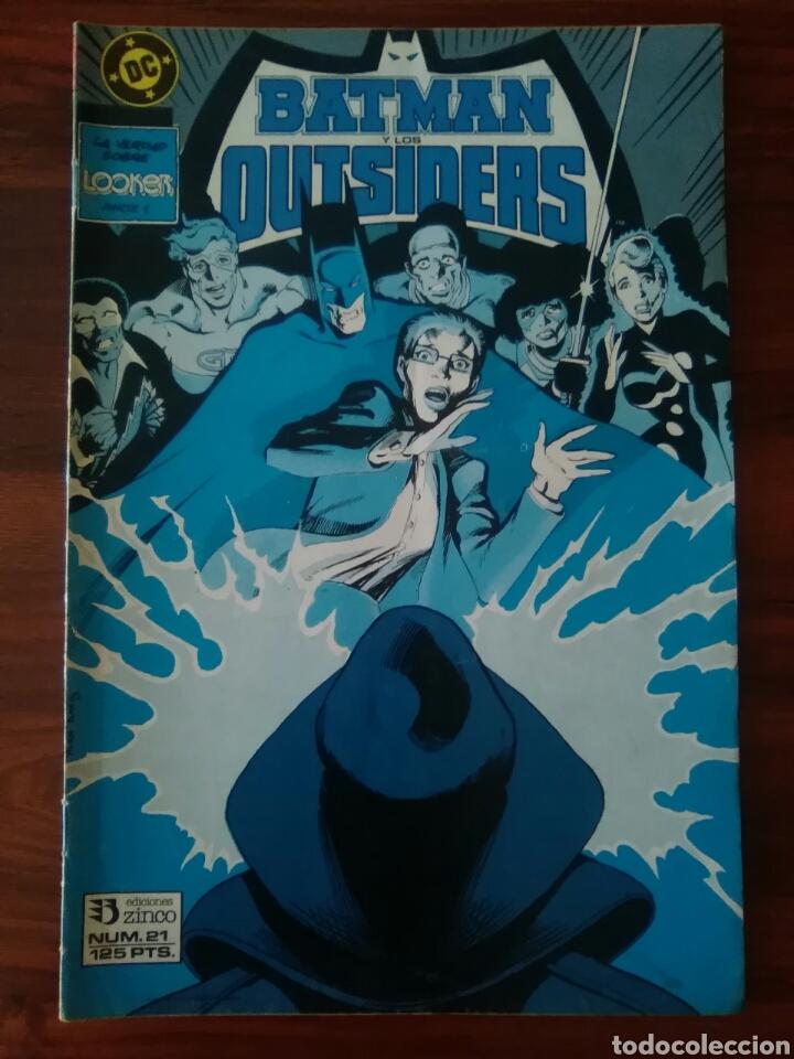 BATMAN Y LOS OUTSIDERS - NÚMERO 21 - VOLUMEN 1 - VOL 1 - DC COMICS - ZINCO (Tebeos y Comics - Zinco - Outsider)