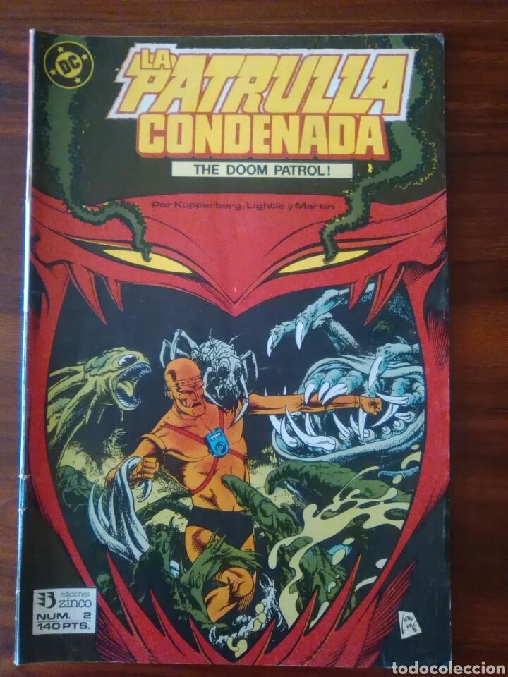 PATRULLA CONDENADA - NÚMERO 2 - VOL 1 - DC COMICS - ZINCO (Tebeos y Comics - Zinco - Patrulla Condenada)