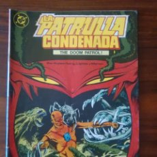 Cómics: PATRULLA CONDENADA - NÚMERO 2 - VOL 1 - DC COMICS - ZINCO. Lote 68129237