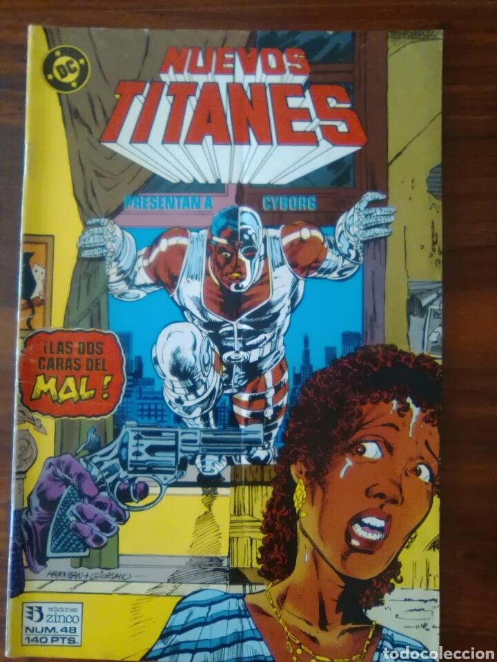 NUEVOS TITANES - VOLUMEN 1 - VOL 1 - NÚMERO 48 - DC COMICS - ZINCO (Tebeos y Comics - Zinco - Nuevos Titanes)
