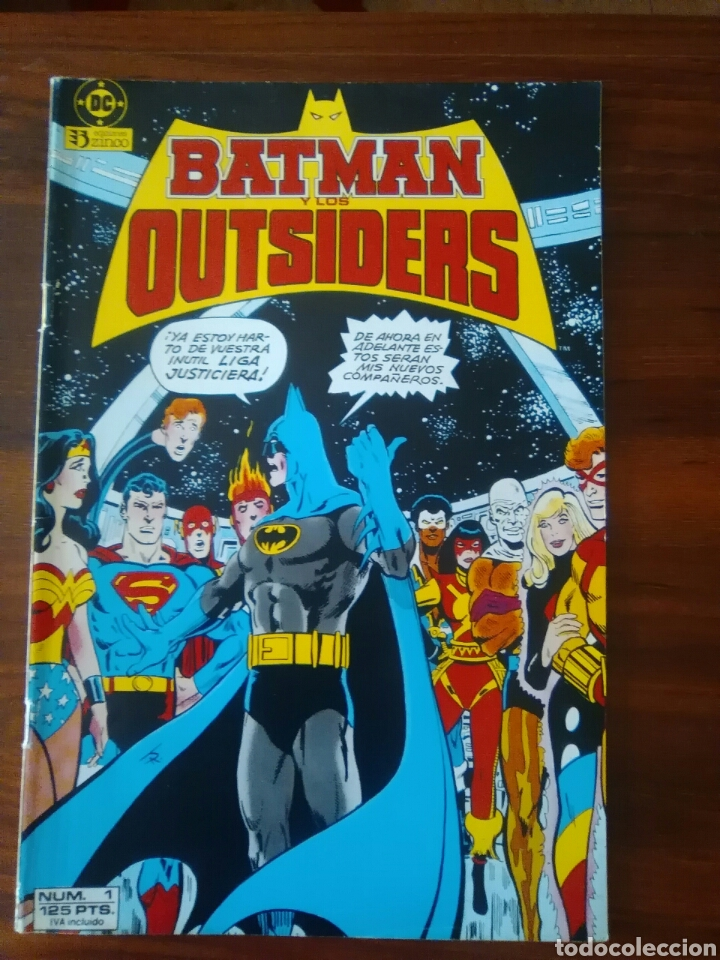 BATMAN Y LOS OUTSIDERS - NÚMERO 1 - VOLUMEN 1 - VOL 1 - DC COMICS - ZINCO (Tebeos y Comics - Zinco - Outsider)