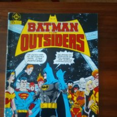 Cómics: BATMAN Y LOS OUTSIDERS - NÚMERO 1 - VOLUMEN 1 - VOL 1 - DC COMICS - ZINCO. Lote 68036933