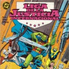 Cómics: COMIC LIGA DE LA JUSTICIA INTERNACIONAL, Nº 11 - ZINCO - OFERTAS DOCABO TEBEOS. Lote 124266111