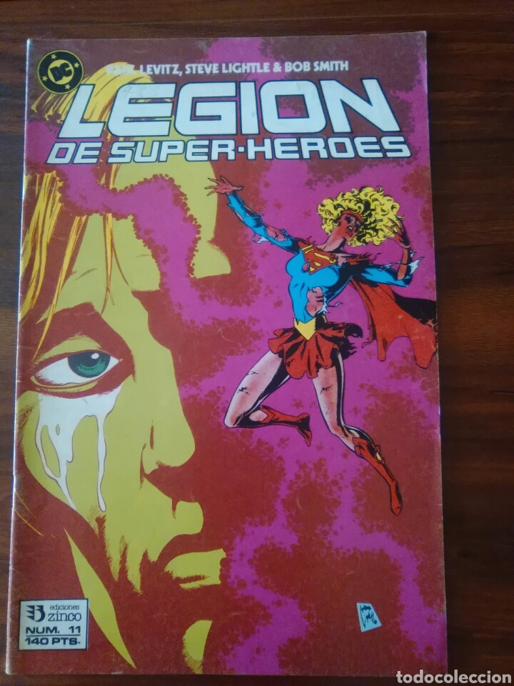LEGIÓN DE SÚPER-HÉROES - 11 - VOL 1 - DC COMICS - ZINCO (Tebeos y Comics - Zinco - Otros)