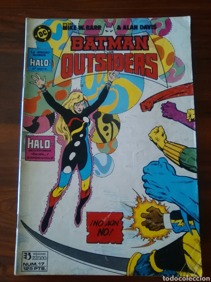 BATMAN Y LOS OUTSIDERS - NÚMERO 17 - VOLUMEN 1 - VOL 1 - DC COMICS - ZINCO (Tebeos y Comics - Zinco - Outsider)