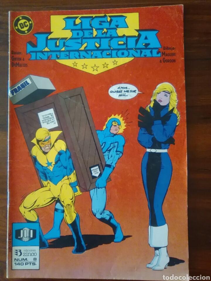 LIGA DE LA JUSTICIA INTERNACIONAL - NÚMERO 8 - VOL 1 - DC CÓMICS - ZINCO (Tebeos y Comics - Zinco - Liga de la Justicia)