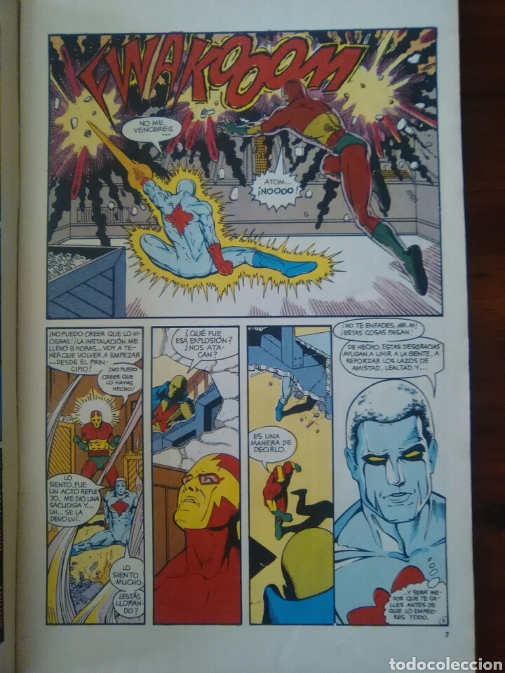Cómics: LIGA DE LA JUSTICIA INTERNACIONAL - NÚMERO 8 - VOL 1 - DC CÓMICS - ZINCO - Foto 2 - 68129533