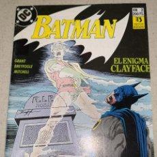 Cómics: BATMAN 2 EL ENIGMA DE CLAYFACE. Lote 124472691