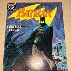 Cómics: BATMAN JUSTICIA CIEGA 3. Lote 124472895